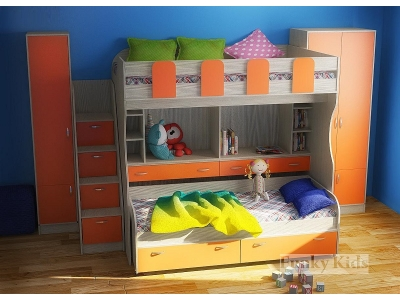 Детская модульная мебель Фанки Кидз 19 (композиция 3)