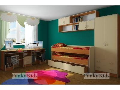 Детская модульная мебель Фанки Кидз 8 (композиция 6)