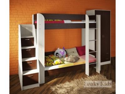Детская модульная мебель Фанки Кидз 20 (композиция 2)