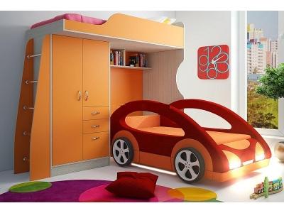 Детская модульная мебель Фанки Кидз 4 (композиция 6)