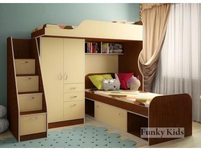 Детская модульная мебель Фанки Кидз 4 (композиция 9)