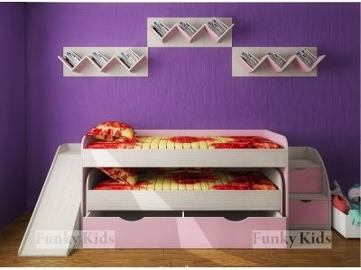 Детская модульная мебель Фанки Кидз 8 (композиция 2)