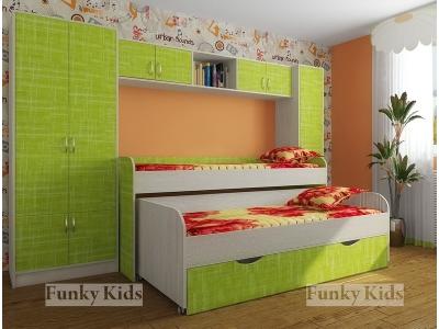 Детская модульная мебель Фанки Кидз 8 (композиция 3)