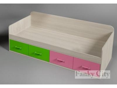 Кровать детская низкая ФС-01 Фанки Сити
