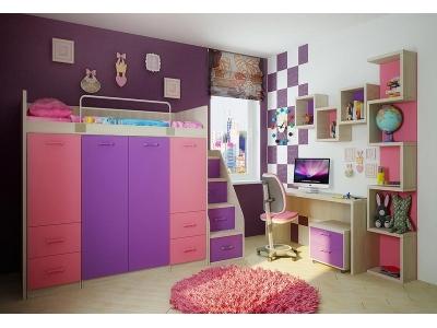 Детская модульная мебель Фанки Сити (композиция 1)