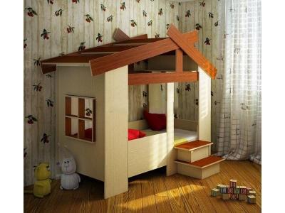 Детская кровать Домик 13/64СВ
