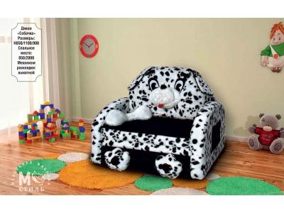 Детский диван Собачка