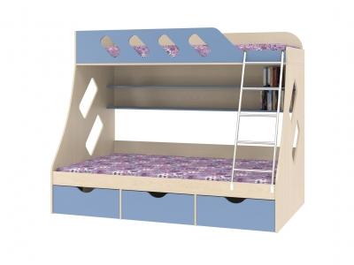 Двухъярусная кровать Дельта-20-01