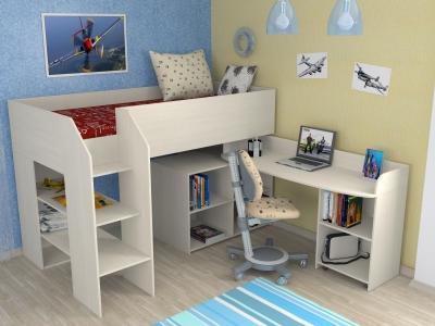 Детская кровать-чердак Теремок-2