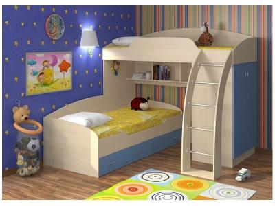 Кровать двухъярусная Соня 1+2