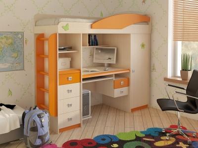 Кровать чердак МДК 4.1.1