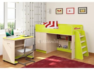 Детская кровать Легенда 2.2 + стол