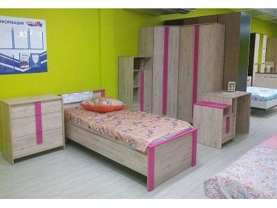 Детская мебель Скаут (фуксия)