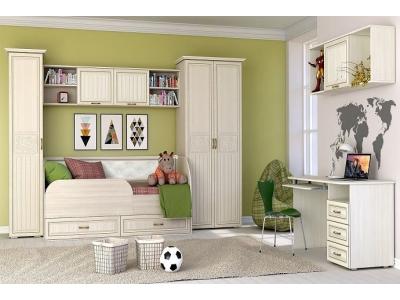 Молодежная мебель Виктория (Ясень Шимо)