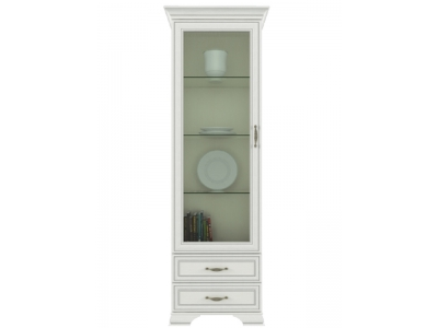 Шкаф с витриной Тиффани 1V2S