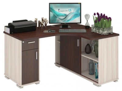 Компьютерный стол СР-160М Домино правый