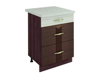 Стол с 3 ящиками (метабоксы) Каролина 11.66