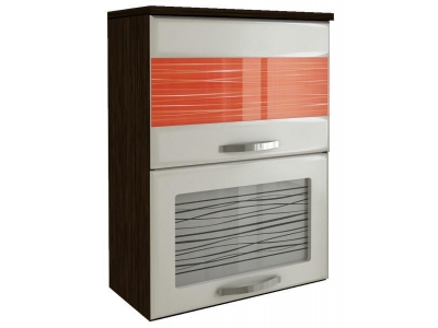 Шкаф-витрина Оранж с плавн. закр. дверей 09.80