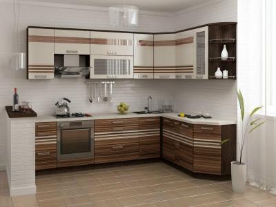 Кухня Рио угловая 15 предметов