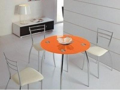 Стол обеденный B2206C orange