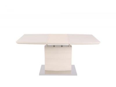 Стол обеденный DТ15037 - бежевый глянец