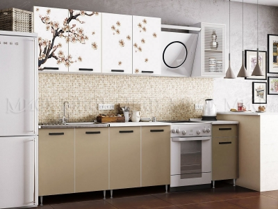 Кухонный гарнитур Рио-1 Сакура 2.0 (ЛДСП)