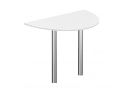 Стол-приставка ПР-7+ВТ-710.1(2 шт.) Imago белый