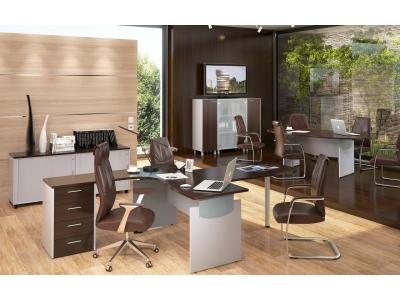Комплект офисной мебели Offix New К1 Легно