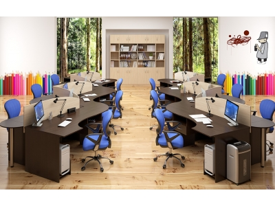 Комплект офисной мебели К2 Simple