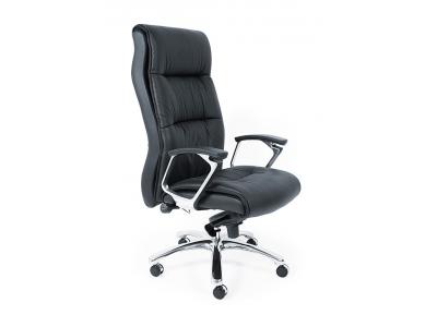 Кресло из кожи «Бэкли» (Bekly)