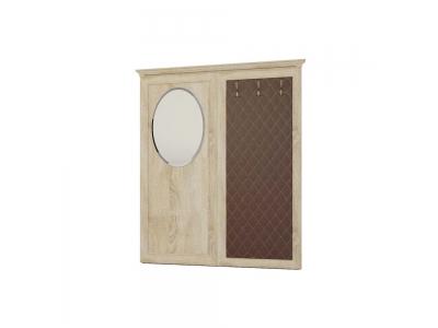 Вешалка навесная с зеркалом 221
