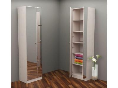 Шкаф зеркальный 600 мм (Бурэ)