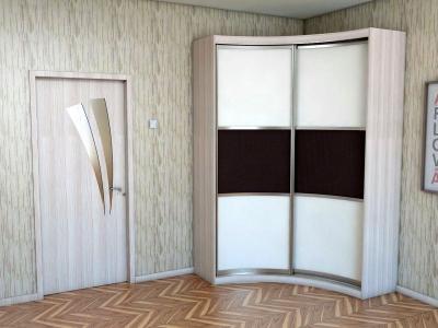 """Радиусный шкаф купе """"Радион"""" вариант-2"""