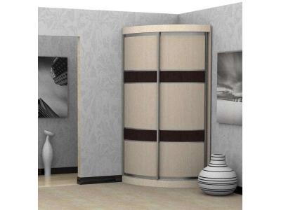 Радиусный шкаф купе Радион 1-3