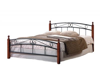 Кровать AT 8077 (метал. каркас) + основание
