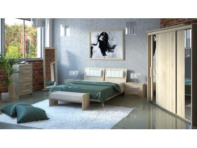 Спальный гарнитур МК-44 (ель)