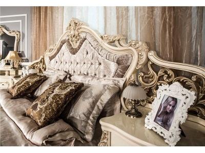Спальный гарнитур Джоконда (крем глянец)