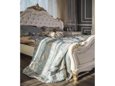 Спальный гарнитур Энрике (крем глянец)