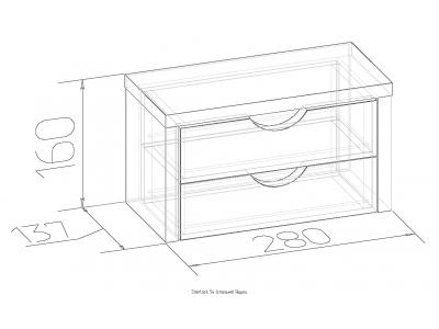 Ящики для туалетного столика Sherlock 54