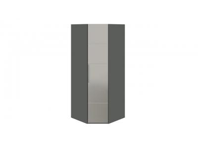 Шкаф угловой с 1-й зеркальной правой дверью «Наоми» СМ-208.07.07 R