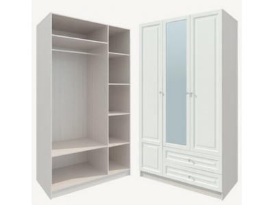 Шкаф распашной трехдверный Ромео