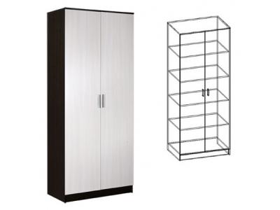 Шкаф 2-х створчатый бельевой Светлана