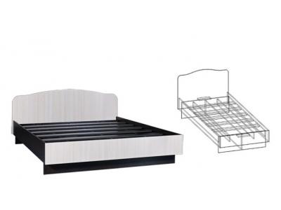 Кровать двуспальная 1600 Светлана