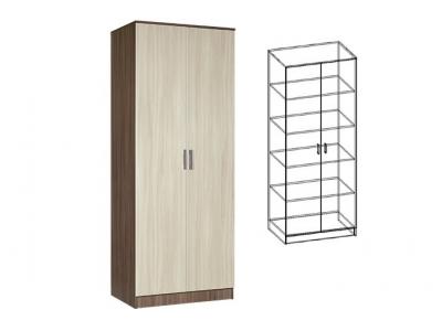Шкаф 2-х створчатый плательный Светлана (Ясень шимо)