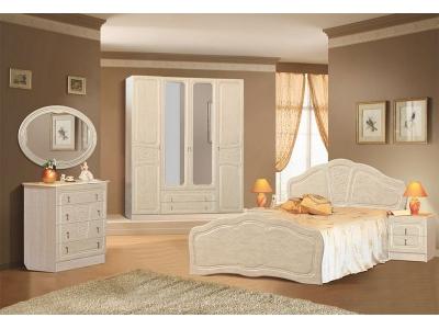 Спальный гарнитур Верона (жемчуг глянец)