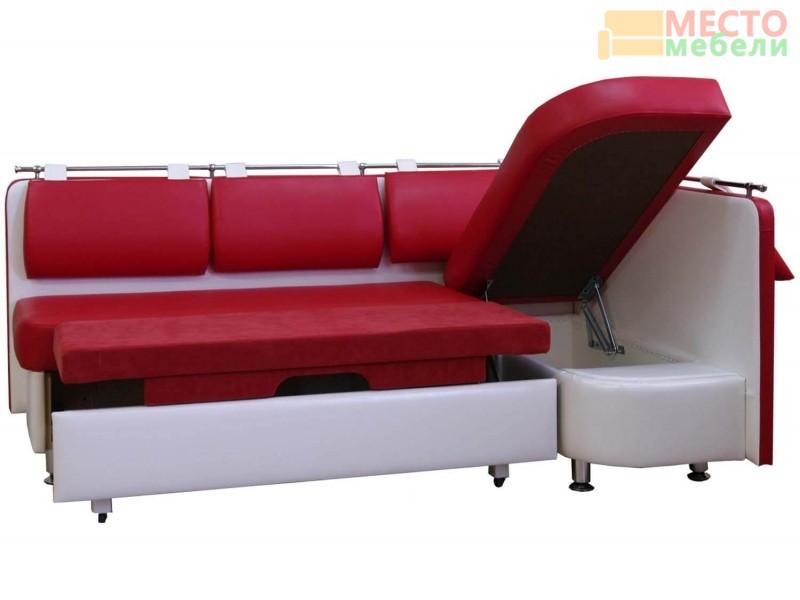 Угловой диван Метро СВ со спальным местом ДМ-02