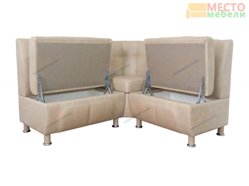 Угловой диван Сенатор с ящиками ДСЕ-16