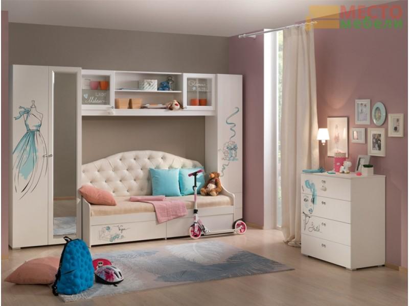 Детская мебель Гламур, комплект 2
