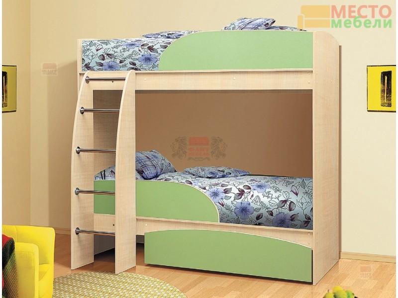 Кровать двухъярусная Омега 4