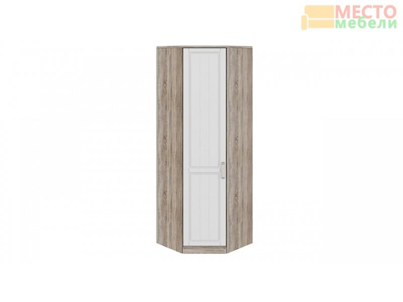 Шкаф угловой с 1-ой дверью левый «Прованс» СМ-223.07.026L